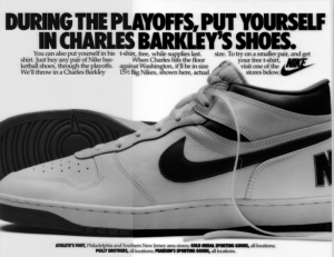 Barkley newspaper ad