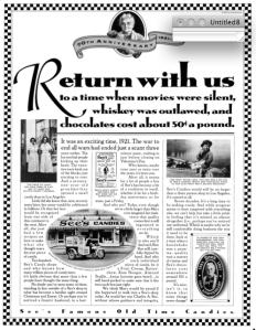 Anniversary ad