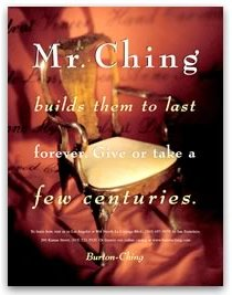 Mr. Ching had quite a story.