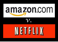 Netflix versus Amazon on your television